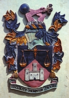 This is another crest from a different branch but it is the same as the crest at Winchester.