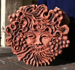 Green Man of Wells (honey glaze)