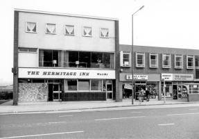 The Hermitage Inn, Sheffield 1975. Was also known Harvey's Tavern - now appears to be The Scholar (a public house). Digital Image copyright © Sheffield City Council